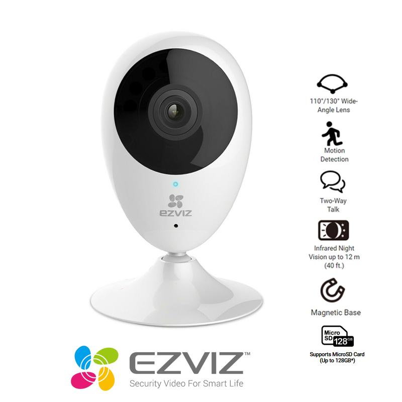EZVIZ C2C 720P Resolution Indoor Wireless Security Camera