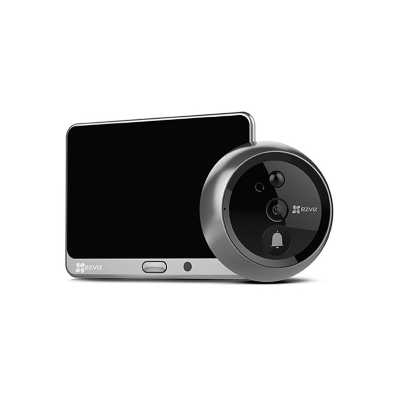 EZVIZ DP1 HD 720P Video Smart Home Door Viewer with Rechargeable Battery
