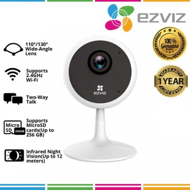 EZVIZ C1C PIR 1080P Indoor 2.4G Wireless Security Camera Smart PIR Detection cctv
